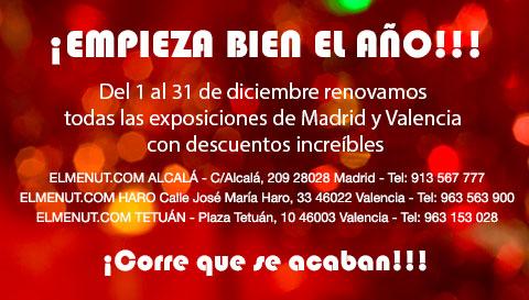 Liquidamos exposiciones Madrid y Valencia