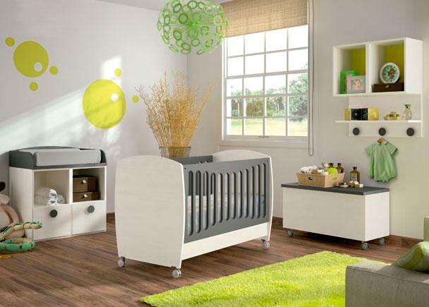 habitaci n beb cuna convertible modelo baby elmenut On habitacion bebe convertible