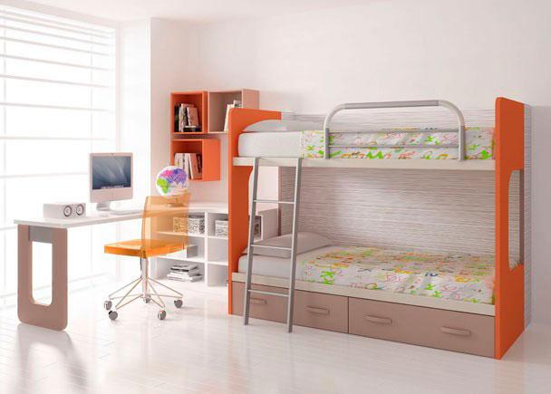 Habitacion infantil 004 762012 elmenut - Mesa de estudio infantil ...