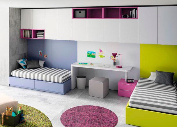 Dormitorio juvenil 079 272012 - Altillos en habitaciones ...