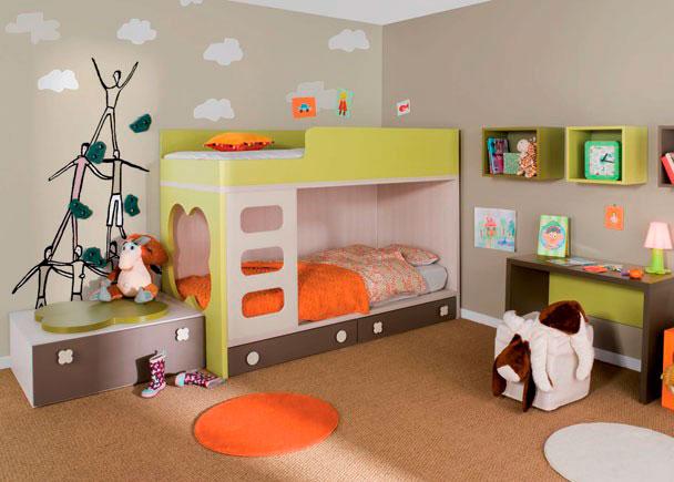 Habitaci n infantil 0850 01032012 - Habitacion con literas ...