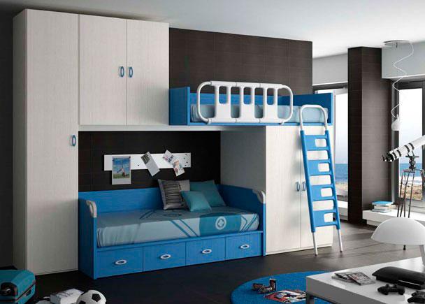 Habitacion infantil 610 24 elmenut - Armario bajo cama ...