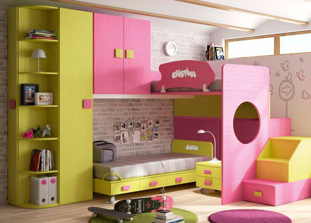 Habitacion infantil 610 29 elmenut - Dormitorio infantil original ...