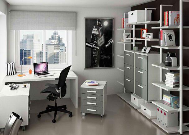 Despacho dom stico completamente modular elmenut for Ideas para despachos