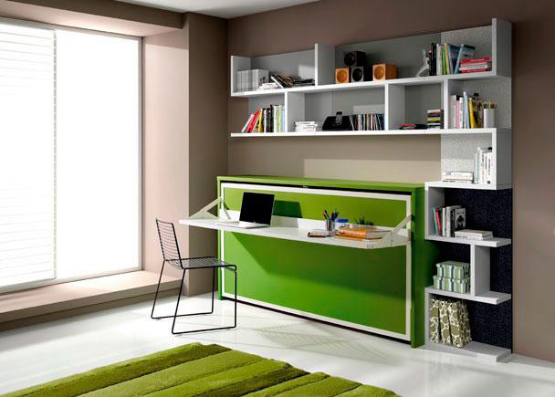 Dormitorio juvenil 528 942012 elmenut for Camas juveniles con escritorio incorporado