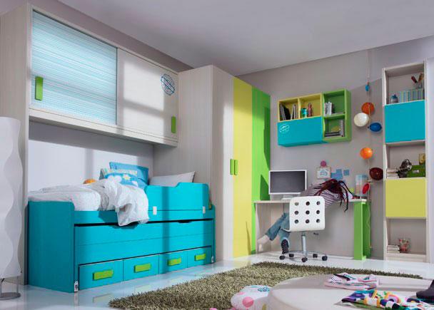 Dormitorio infantil 545 5032012 elmenut - Dormitorios infantiles malaga ...