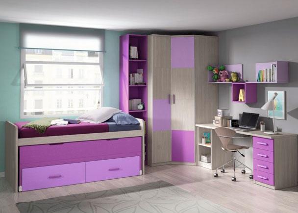 Habitaci n infantil con armario sinfonier de 1 puerta elmenut for Armario habitacion infantil