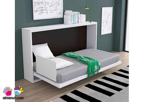 Cama abatible horizontal modelo krono para colchon de 90 x - Camas muebles abatibles ...