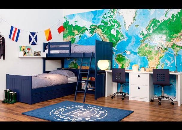 Dormitorio infantil 313 102013 elmenut - Dormitorios infantiles mixtos ...