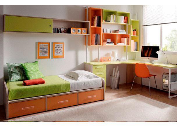 Habitaci n cama nido y zona de estudio 079 0023 - Cama nido economica ...