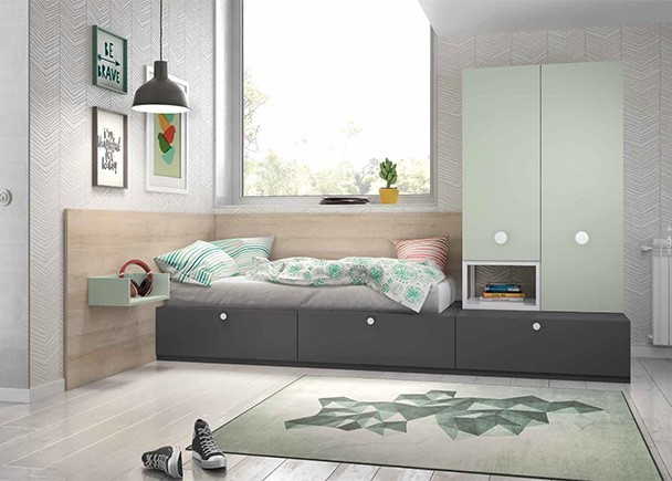 Habitacion infantil 002 42 elmenut - Literas abatibles valencia ...