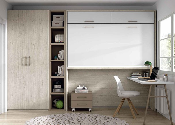 Habitaci n infantil con compacto de 3 camas elmenut - Habitacion 3 camas ...