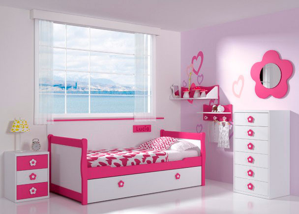Dormitorio infantil 112m 332013 elmenut - Dormitorios infantiles ninas ...