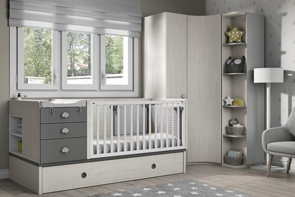 Habitaci n infantil ideal para espacios reducidos elmenut for Disenar dormitorio juvenil 3d