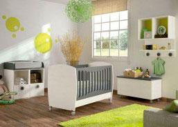 La cuna BABY caracteriza por sus laterales abombados que le aportan un aire sofisticado y moderno.
