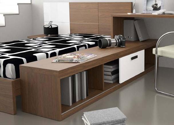 Dormitorio juvenil con zona de estudio elmenut - Elmenut com ...