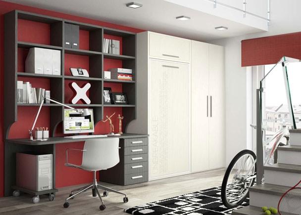 Abatible vertical altillo armario zona de estudio elmenut - Elmenut com ...