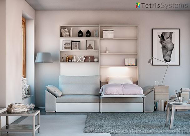 Camas abatibles de matrimonio cama abatible 257 for Catalogo de camas de matrimonio