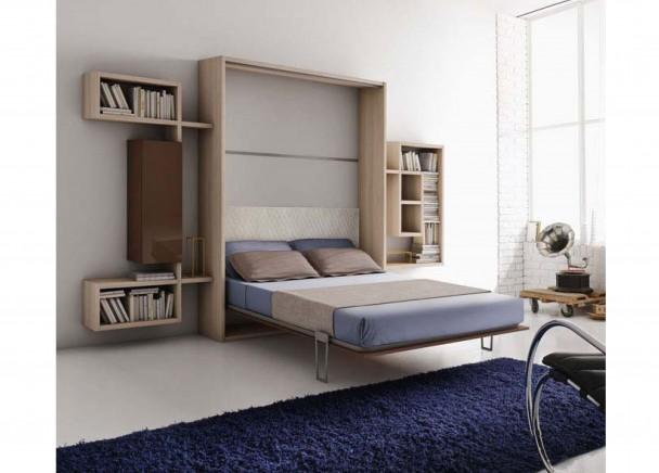 Muebles con camas abatibles cama abatible 276 - Muebles cama abatibles ...