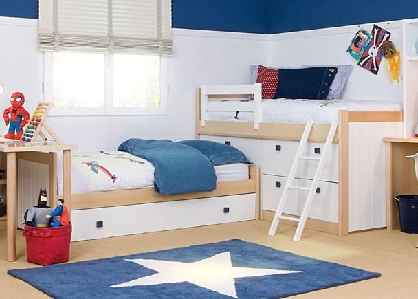 Dormitorio infantil 313 062013 elmenut - Dormitorios infantiles mixtos ...