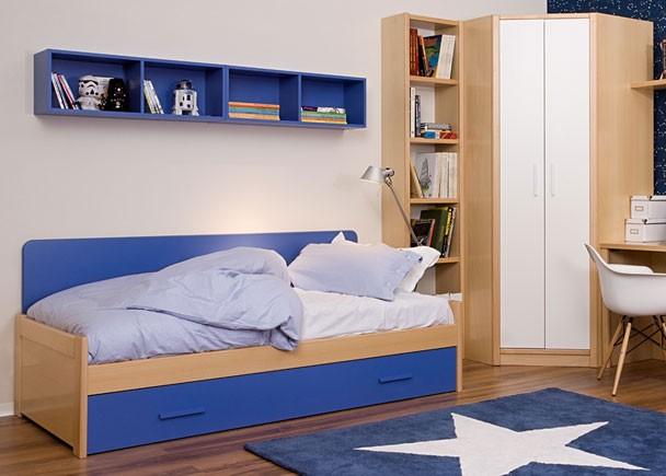 Juvenil de l nea modular con cama nido 313 082013 for Cama modular infantil