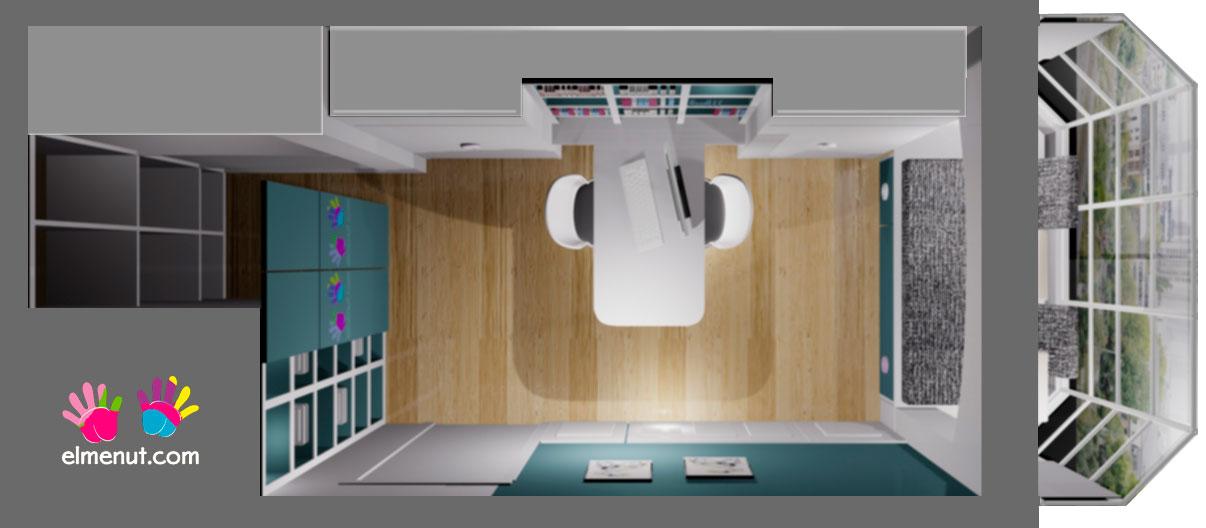 Imagen de Planta pequeña habitación en vivienda unifamiliar