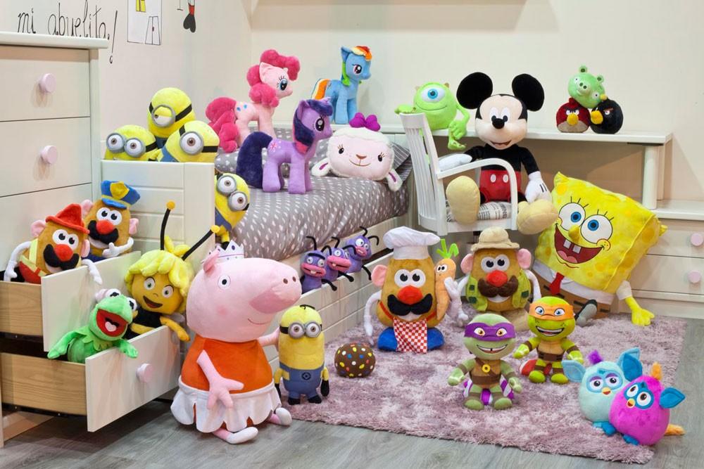 Nuevos peluches Play by Play: Peppa Pig, Abeja Maya, Bob Esponja, Mickey Mouse, Tortugas NInja…