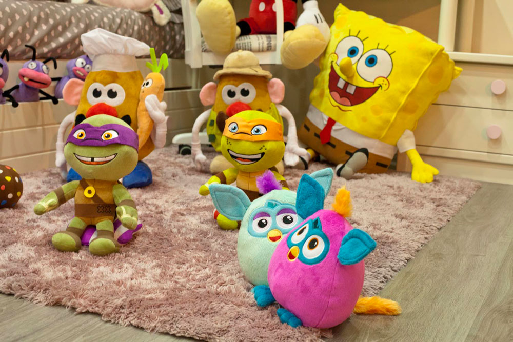 Peluches Play by Play 2014: Bob Esponja, Tortugas Ninja, Mr. Potato, etc.