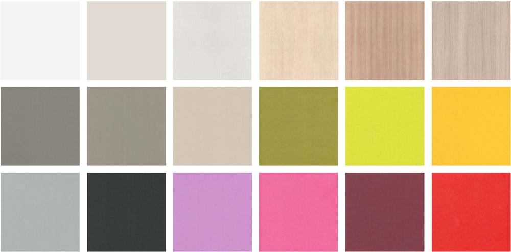 Colores base y combinaci n en mobiliario juvenil elmenut - Colores de pintura para dormitorios juveniles ...