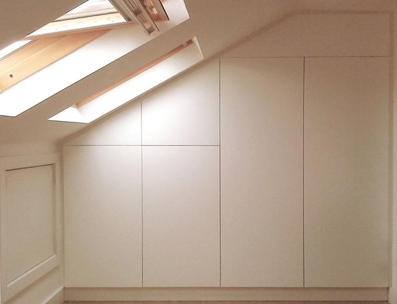 armarios para techos abuhardillados