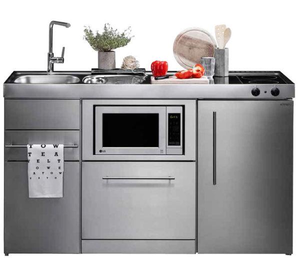 Mini cocinas compactas para espacios pequeños