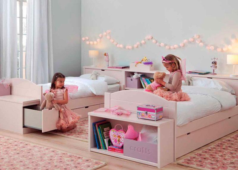 dormitorio infantil cabecero separador