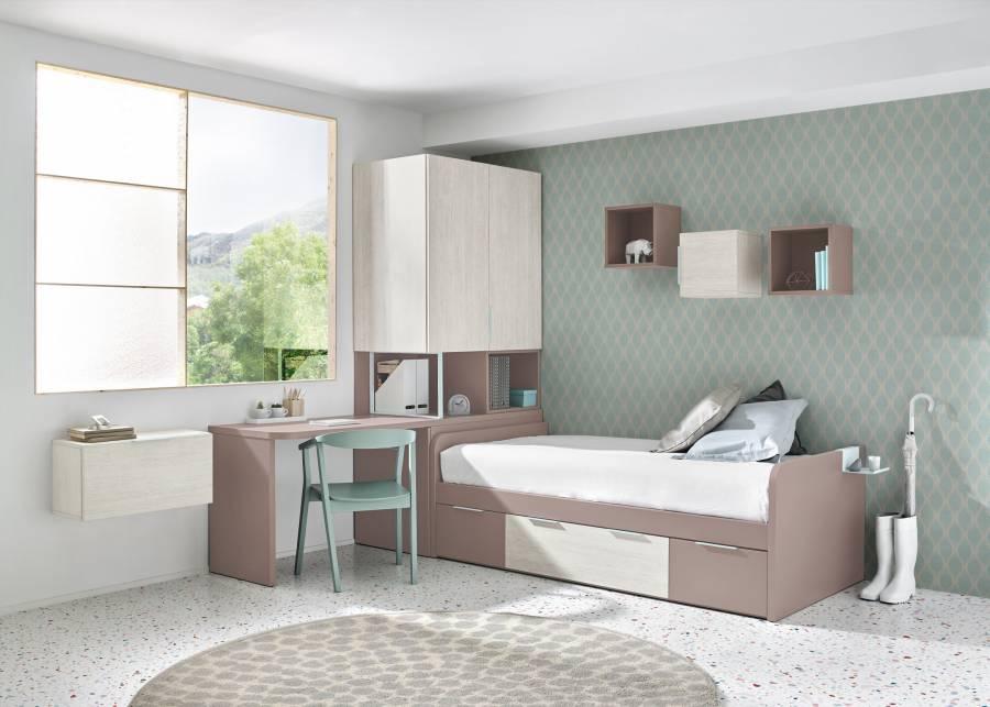 cama nido para habitaciones infantiles compartidas