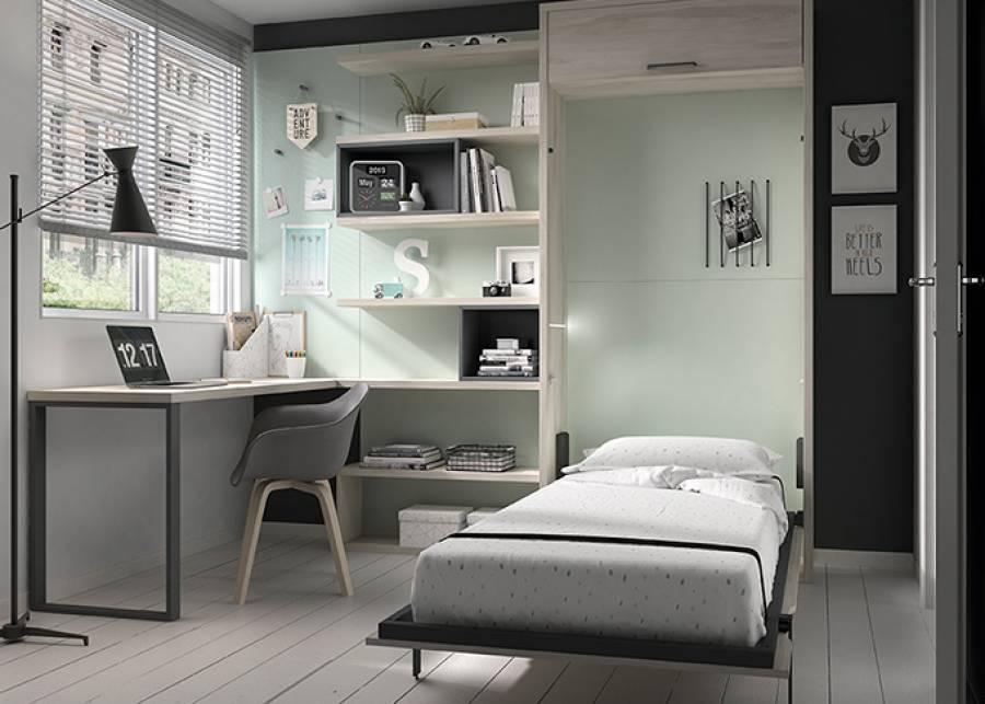 camas abatibles de diseño juvenil
