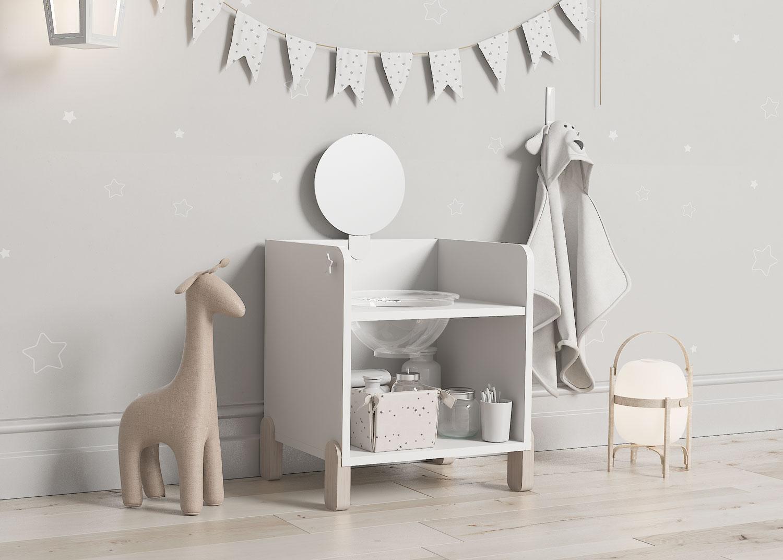 Mueble higiene para niños