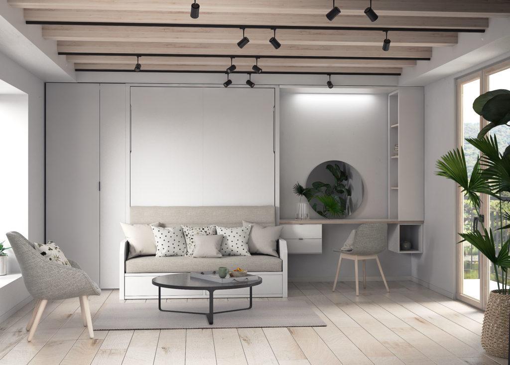 Habitación para optimizar el espacio