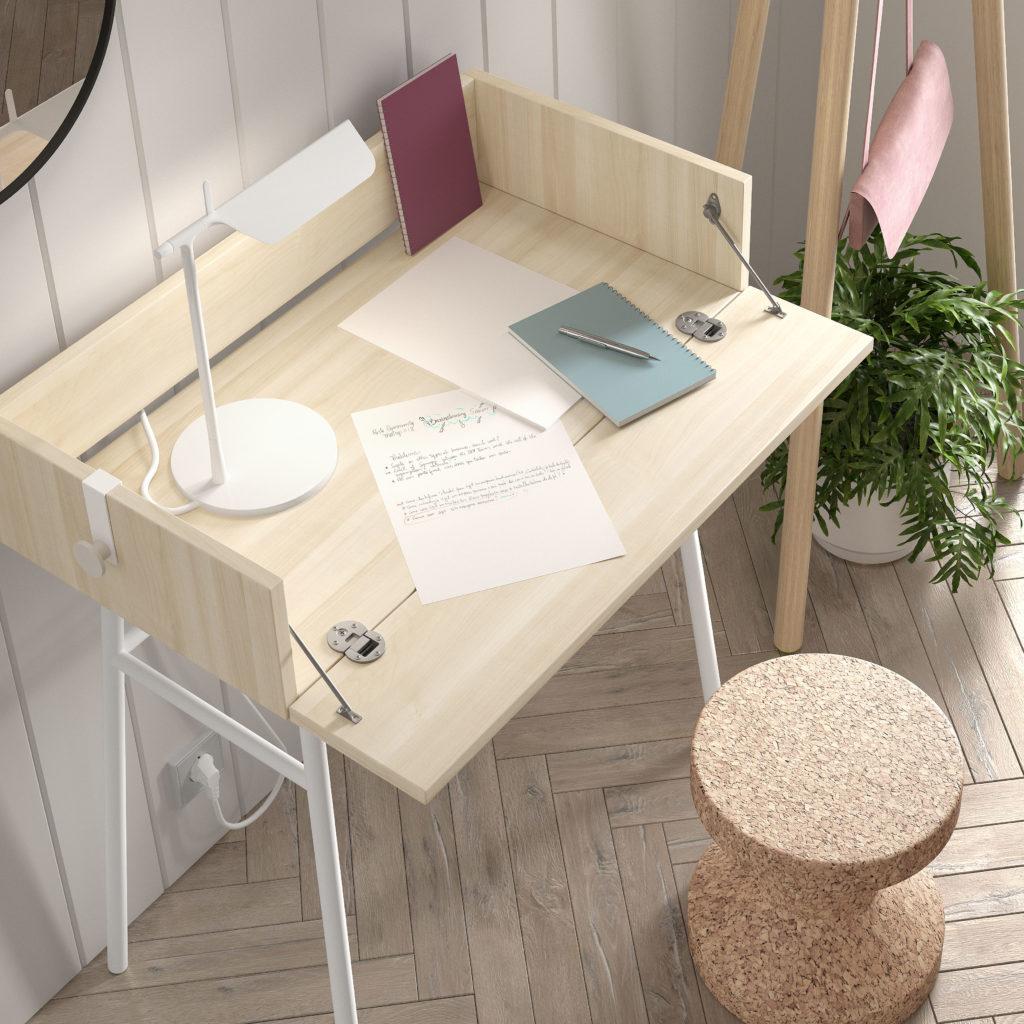 escritorio abatible
