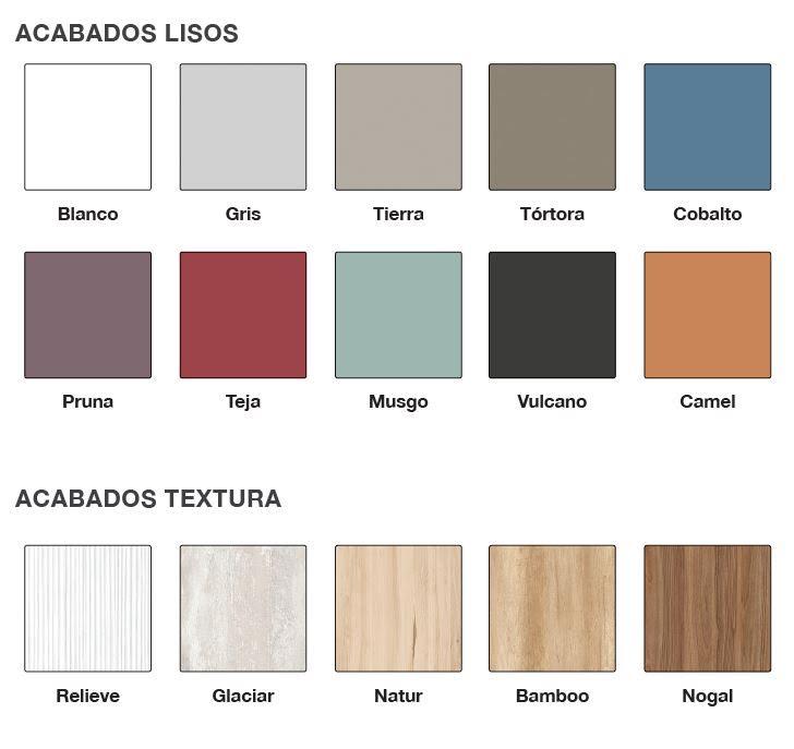 Colores base lisos y con poro de Tetris Systems, S.L.