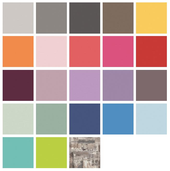 Colores combinables de la composición 303-262012