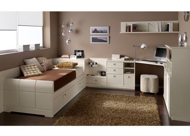 elegante habitaci n juvenil lacada en blanco elmenut