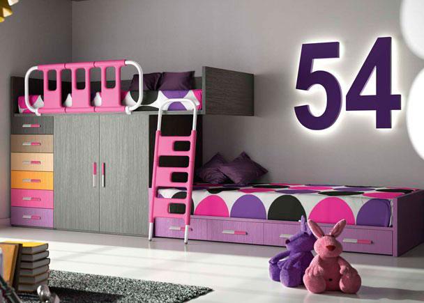 Habitacion infantil 610 25 elmenut - Habitacion infantil tren ...
