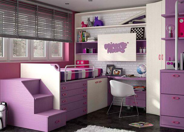 Habitacion infantil 610 28 elmenut - Armario bajo cama ...