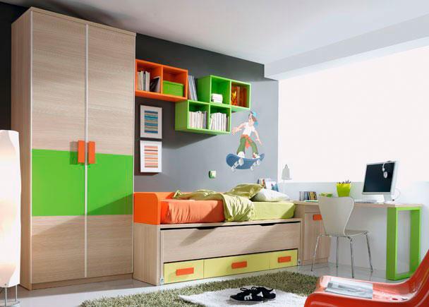 DORMITORIO INFANTIL 545-5102012. Elmenut