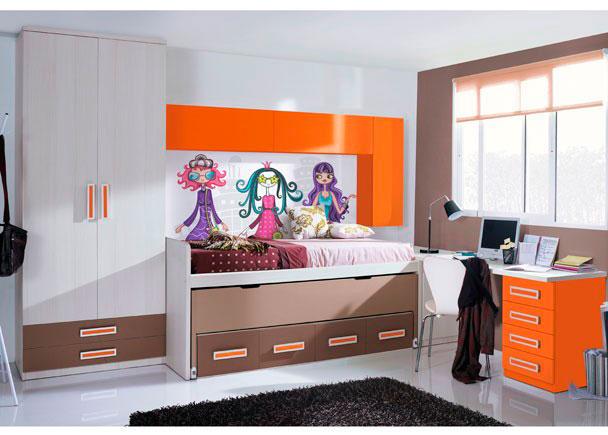 Dormitorio infantil 545 5172012 elmenut - Dormitorios infantiles malaga ...
