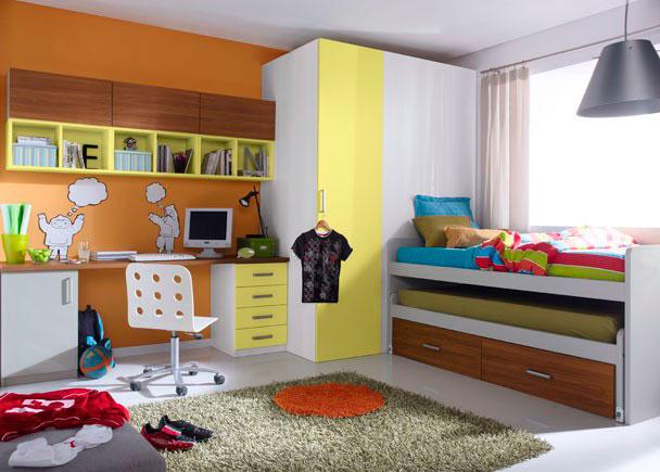 Dormitorio infantil 545 5232012 elmenut - Dormitorios infantiles malaga ...