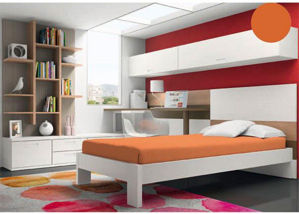 Dormitorio juvenil moderno y minimalista elmenut for Dormitorios modernos precios