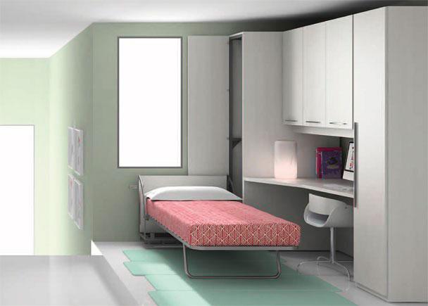 Dormitorio juvenil 366 2632012 elmenut Armario puente juvenil