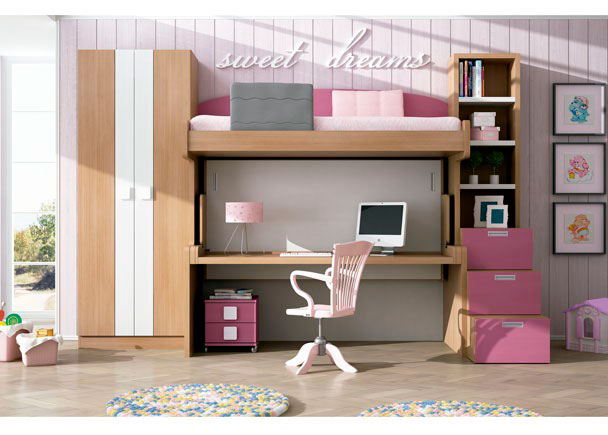 Dormitorio infantil 626 182013 elmenut - Dormitorios infantiles malaga ...