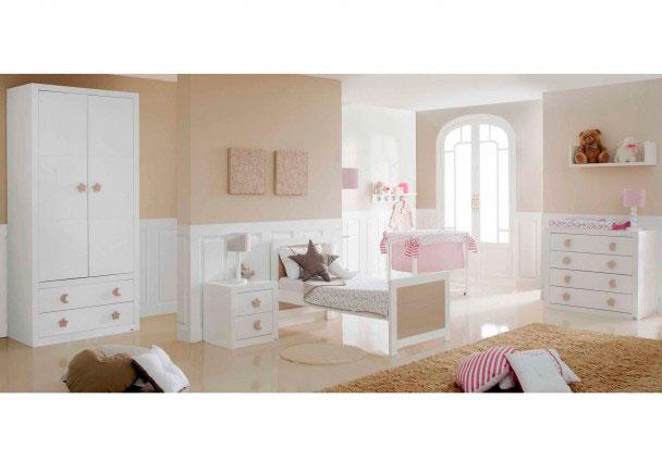 Dormitorio beb con cuna transformable elmenut - Dormitorios de bebes ...