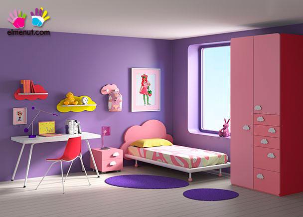 Juvenil cama con cabezal y armario elmenut - Cabezal cama infantil ...